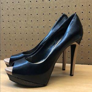 Jessica Simpson JP-Solange Peep Toe Heels sz 9.5